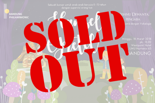 Hansel  Gretel (Bandung 1) SOLD OUT