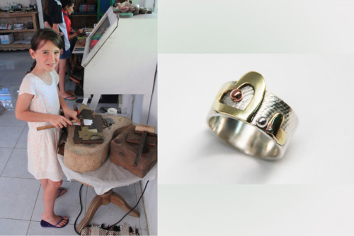 Silver Jewelry Making Course in Sanur - Family workshops 05