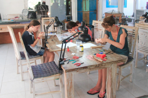 Silver Jewelry Making Course in Sanur - Fullday workshops 02