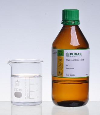 CAS 50 Asam klorida